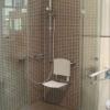 Barrierefreie Dusche mit Sitz